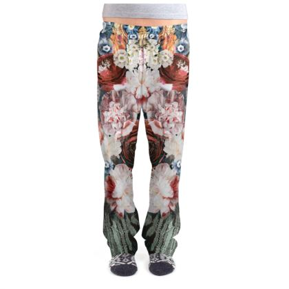 Flowers - Ladies Pyjama Bottoms