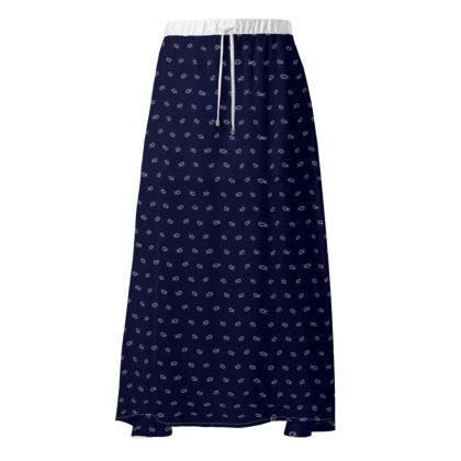 Fish print skirt