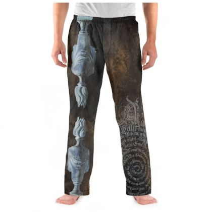 Flaming Urn - Mens Pyjama Bottoms