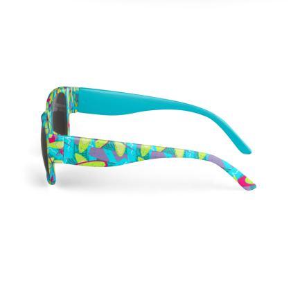 Cool Surfboard Patterned Designer Sunglasses