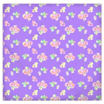 Duvet Covers[king size shown]  My Sweet Pea  Purple Passion
