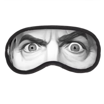 Béla Lugosi Celebrity Caricature Eye Mask