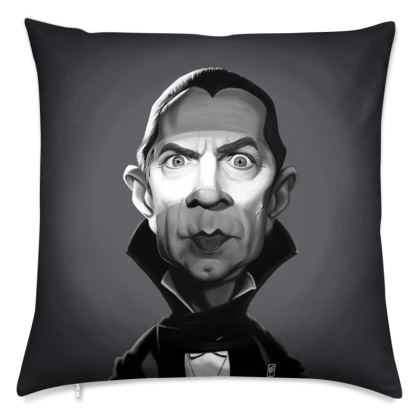 Béla Lugosi Celebrity Caricature Cushion