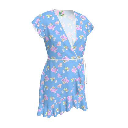 Tea Dress  My Sweet Pea  Bluebird