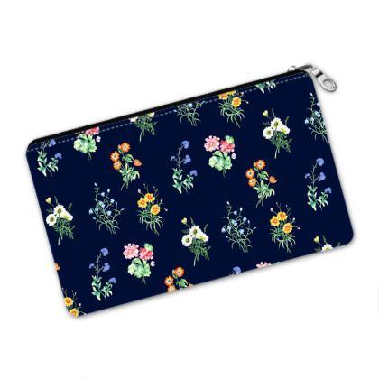 Floral Pencil Case - Midnight Summer