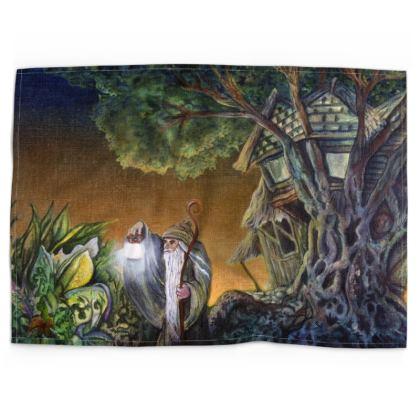 The Wizard Tea Towel