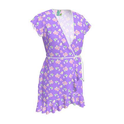 Tea Dress  My Sweet Pea  Purple Passion