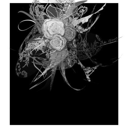 Skater Dress - Skater klänning - 50 shades of lace grey black