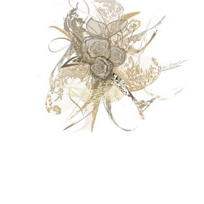 Skater Dress - Skater klänning - 50 shades of lace white