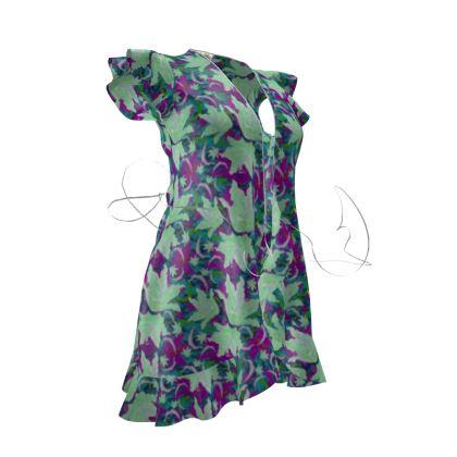 Tea Dress  Lily Garden  Viola