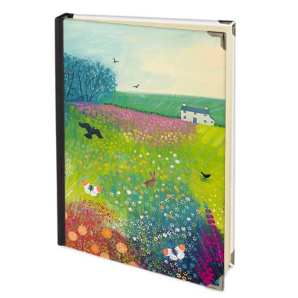Journal with Midsummer Meadow design by Jo Grundy