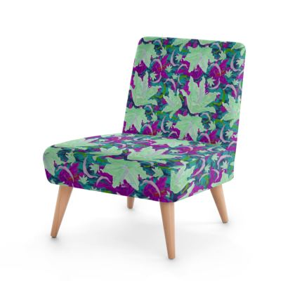 Occasional Chair  Lily Garden  Viola