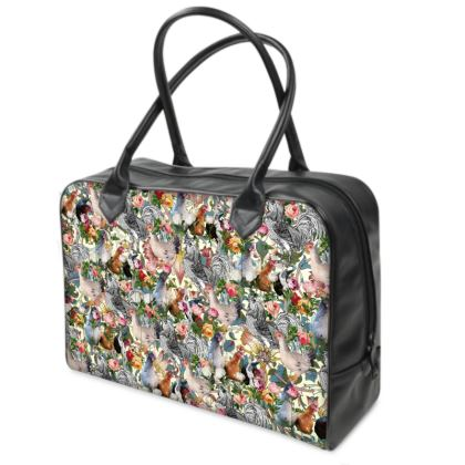 Julia's Chickens Weekender Bag