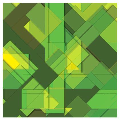 Espadrilles Abstract Green Design