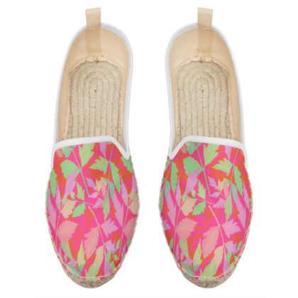 Loafer Espadrilles  Cathedral Leaves  Trifle