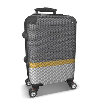 Suitcase Japanese Pattern
