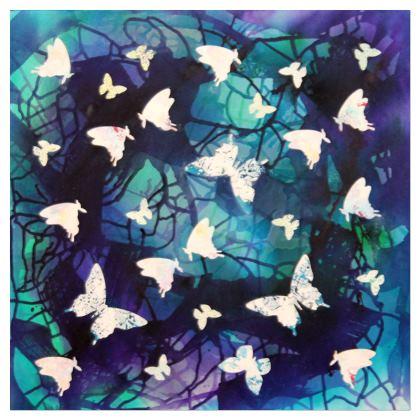 "Art Gift/ Cushions ""Nighttime Waltz"" series"