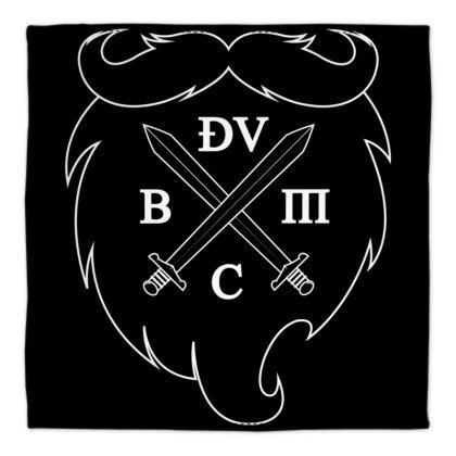 The Deva Victrix Beard and Mustache Club Bandana