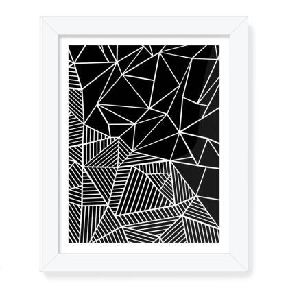 """Abstract 45 8""""x 10"""" Framed Print"""