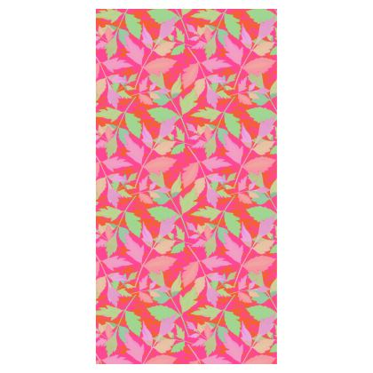 Leggings  Cathedral Leaves  Trifle [pink, green]
