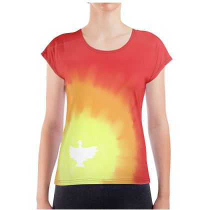 Red Holy Spirit Dove Relaxed Shirt