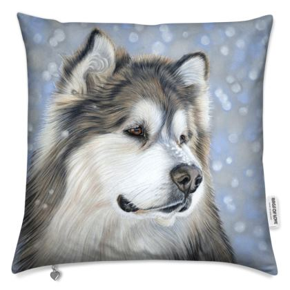 Alaskan Malamute Cushion