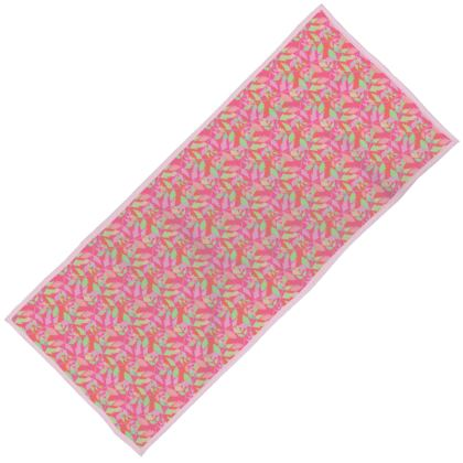 Towels  Cathedral Leaves  Trifle [pink, green]
