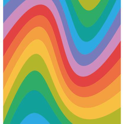 Rainbow Wave Cushion