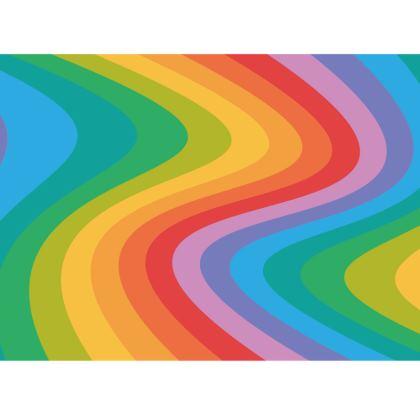 Rainbow Wave Tin