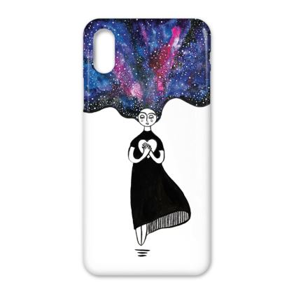 The Space Within the heart Iphone X Case