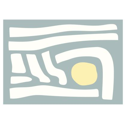Abstract Desert Fabric Placemat