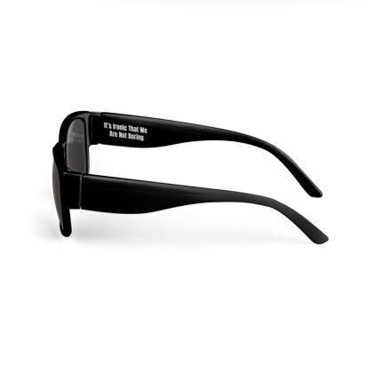 Boring Clothing Uk Black Sunglasses