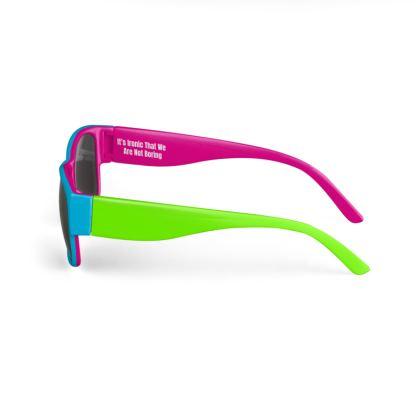 Boring Clothing Uk Multi-Coloured Sunglasses