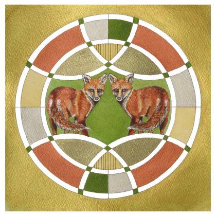 Symmaria Foxes Coasters