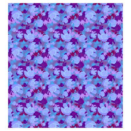 Slip Dress [blue]  Field Poppies  Midnight