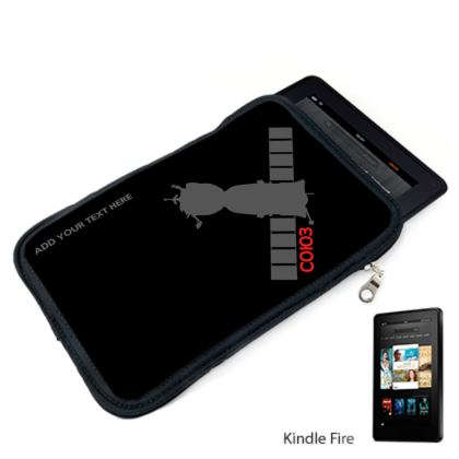 Soyuz Spacecraft Black Kindle Case