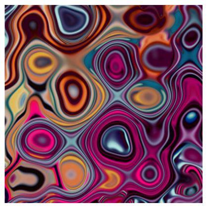 Ladies Tunic T Shirt Fashion Circles 7