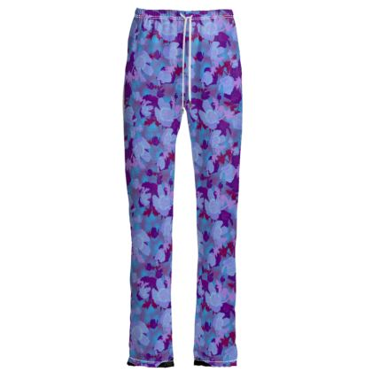 Womens Trousers [blue]  Field Poppies  Midnight