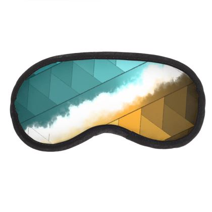 Eye Mask Colorful Abstract Print