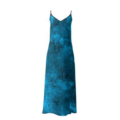 Slip Dress Dark Blue