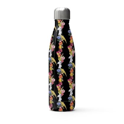 Blooming stainless bottle