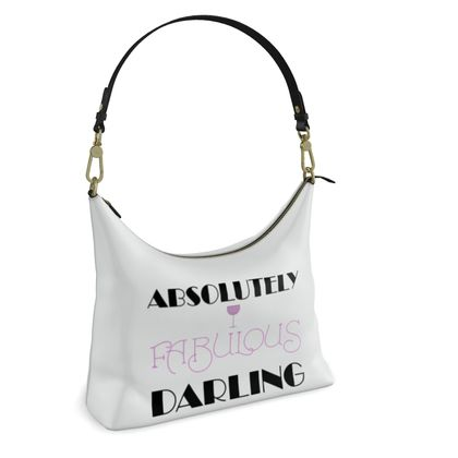Square Hobo Bag - Absolutely Fabulous Darling - ABFAB 2
