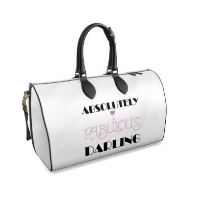 Duffle Bag - Absolutely Fabulous Darling - ABFAB 2