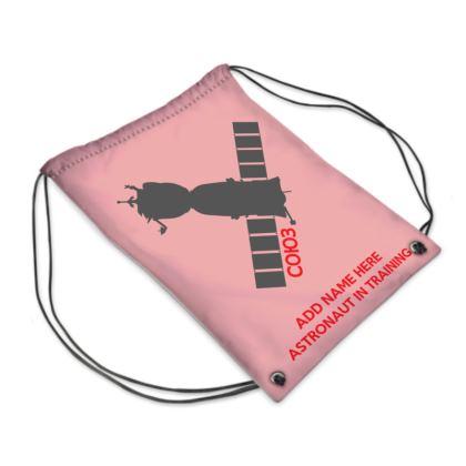 Astronaut in Training Back to School Sport Swim Bag