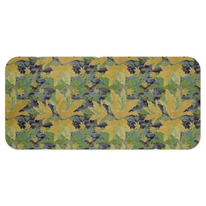 Blanket Scarf [green, yellow]  Lily Garden  Sylph