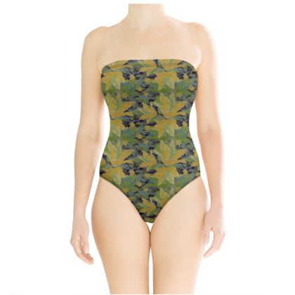Swimsuit [yellow, green]  Lily Garden  Sylph
