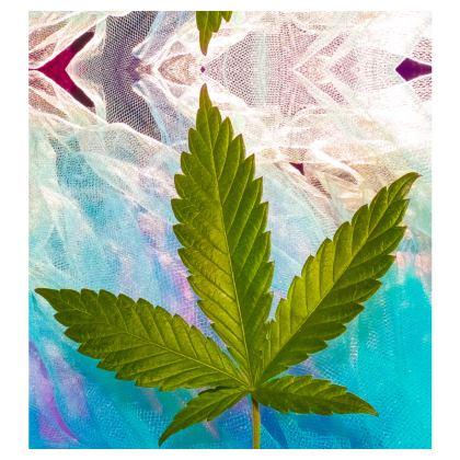Lovely Leaf slip dress (short)