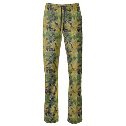 Womens Trousers [green, yellow]  Lily Garden  Sylph