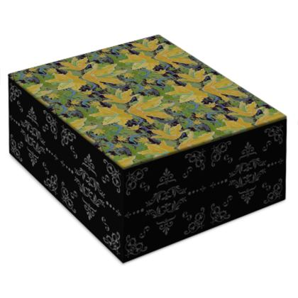 Jewellery Box [yellow, green]  Lily Garden  Sylph