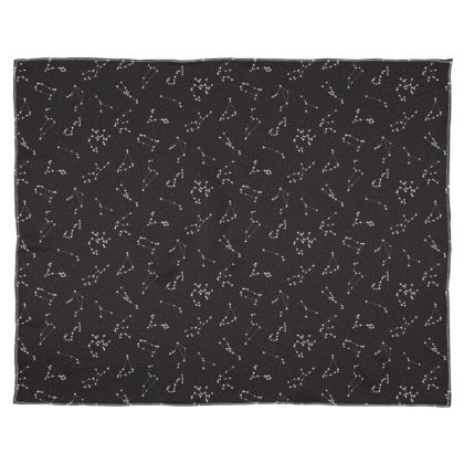 Zodiac Constellations Print Scarf Wrap or Shawl